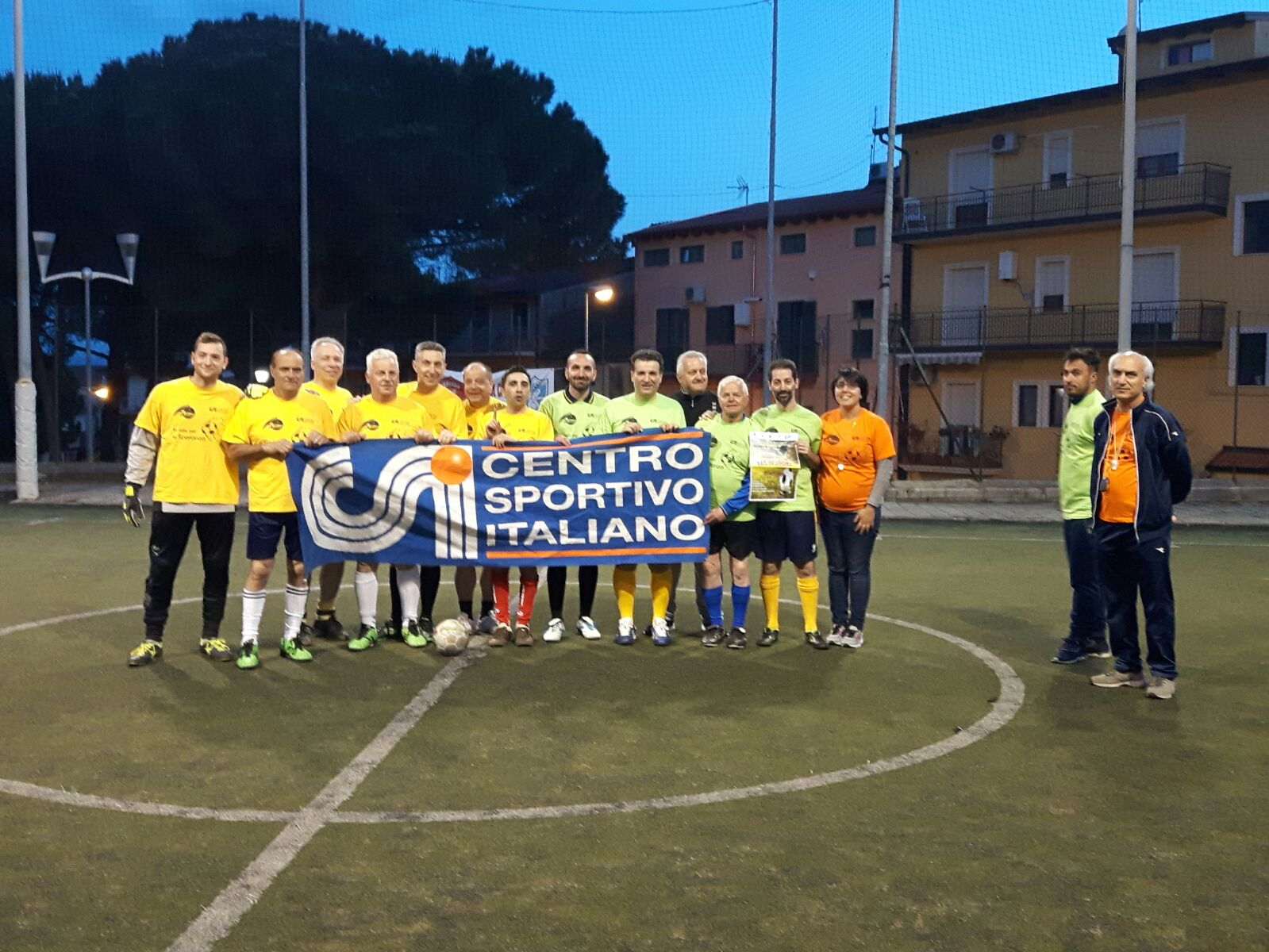 Seconda partita quadrangolare